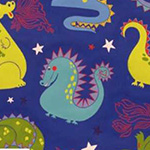 Monkey's Bizness - Baby Dragon in Navy