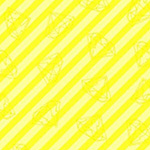 Tattooed - Gem Stripe in Yellow