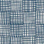 Cats and Dogs - Grid in Blue