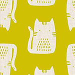 Cats and Dogs - Cats in Yellow