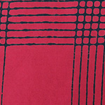Alison Glass - Chroma - Plaid in Cherry