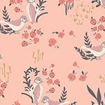 Hello, Ollie - Organic - Feathered Fellow in Blush