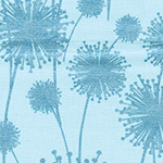 Pearl Reflections - Dandelion Shadow Aqua/Teal