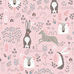 Pretty Little Woods - In The Woods in Light Pink