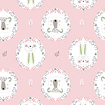 Pretty Little Woods - Flower Frames in Light Pink