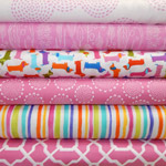 Hot Diggedy Dog - Fat Quarter Bundle