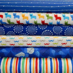Very Proper Woofers - Fat Quarter Bundle