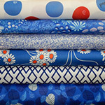 Backyard Blues - Fat Quarter Bundle