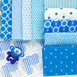 Out of the Blue - 10 Fat Quarter Bundle