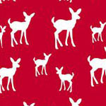 Deer in Red