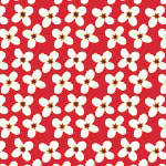 Mini Flowers in Red