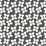 Mini Flowers in Dark Grey