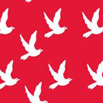 Doves in Red
