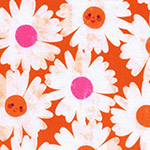Trinket - Happy Garden in Orange