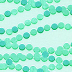 Trinket - Candy Necklace in Aqua