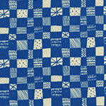 Print Shop - Grid in Blue