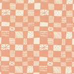 Print Shop - Grid in Peach