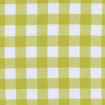 Checkers - Half Inch Gingham in Citron
