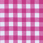 Checkers - Half Inch Gingham in Berry