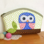 Owl Makeup/Pencil Case Kit