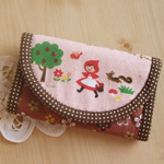 Red Riding Hood Coin and Card Purse Kit
