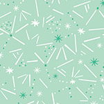 Dashwood Ditsies - Sticks and Stars in Mint