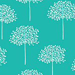 Street Life - Trees in Teal