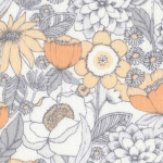 Mercer - Floral in Gray