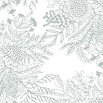 Classics by EJJ - Botanical in White/Silver