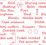 Sewing School - Index in Red