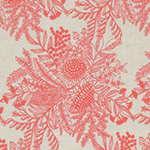Ella's Backings - Botanical in Coral