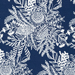 Ella's Backings - Botanical in Navy