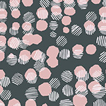 Vestige - Woven Dots in Blush