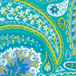 Haute Girls - Paisley in Aqua