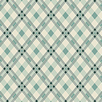 Washington Depot - Open Plaid in Teal