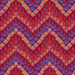 Fall 2017 - Kaffe Fassett - Trefoil in Red
