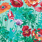 Classic Floral - Shirley Poppies in Spring