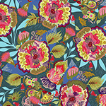 Vibrant Blooms - Floral Express in Blue