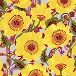Vibrant Blooms - Sunshine Bloom in Yellow