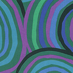 Kaffe Fassett Wideback - Circles in Green