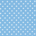 Delilah - White Dots in Blue