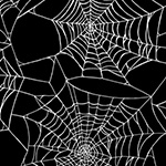 Fright Night - Spider Web in Black