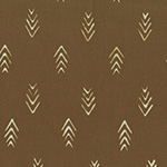 Indah Batiks - Herringbone in Coffee