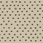 Pixies - Square Dot Blender in Dark Khaki