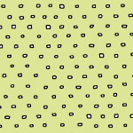 Pixies - Square Dot Blender in Light Green