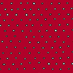 Pixies - Square Dot Blender in Red