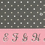 Lighthearted - Dots & Flowers in Gray