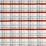 Radiant Girl - Tartan in Blue/Red