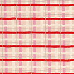 Radiant Girl - Tartan in Metallic Pink/Red