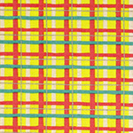 Radiant Girl - Tartan in Metallic Yellow